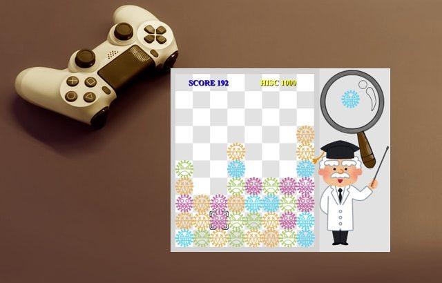 Pythonで落ち物パズルゲームを作ってみた